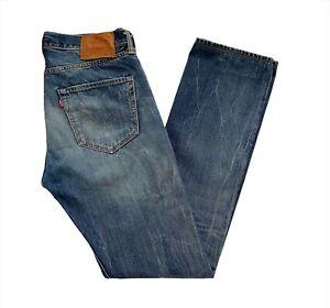 Levi's 501 Classic Men's Blue Wash Denim Jeans W32 x L34