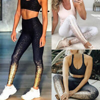 Women's Sports Yoga Workout Gym Fitness Leggings Pants Jumpsuit Athletic T99