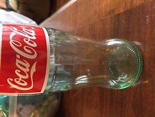 Rare Mexican Coke Bottle No Cap [Empty]