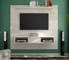 Floating Entertainment Center Rustic Wall Unit Mount Media 70 Inch TV Stand  Wood