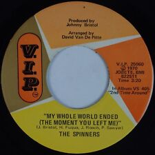 THE SPINNERS: We'll Have It Made USA VIP '70 Soul 45 Motown
