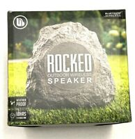 Merkury Innovations | Rocked Outdoor Wireless Speaker | IPX4 Weatherproof