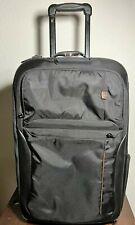 "TUMI T-Tech Black Traveler Luggage 22"" Upright Carry-On garment 5622D VGUC"