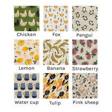 9Pcs Lovely Sponge Cloth Eco-Friendly Clean Dishcloth 100% Natural Biodegradable