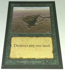 Sinkhole - BETA Collector's Edition MTG *RARE