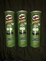 pickle rick pringles Lot Of 3