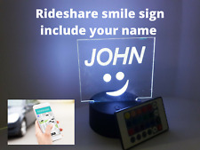 Compatible Acrylic Sign  Universal Logo Include your Name