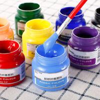 50ml Textilfarben Textilmalerei for Silk Screen Printing Mesh Transfers Stencil