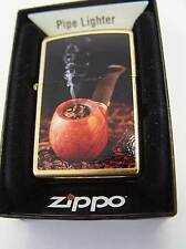 ZIPPO ® ORO Dust LUXURY PIPE LIGHTER ZIPPO PIPA LIMITED EDTION NUOVO/NEW ovpltd