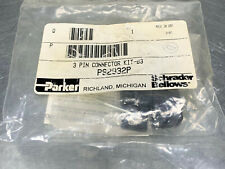 Parker PS2932P Connector Kit, 3 Pin