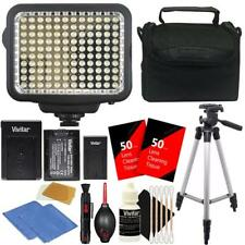 LED Video Light 120 LEDs Dimmable for Canon Nikon Sony Cameras and Camcorders