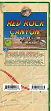 Red Rock Canyon Nevada Adventure Guide Waterproof Topo Trail Map