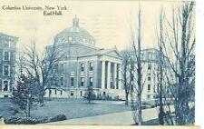 NEW YORK COLUMBIA UNIVERSITY EARL HALL PM 1911 (JL3-749)