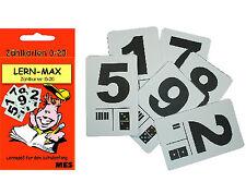 Zählkarten Lernkarten 0 - 20 in Schachtel Vorschule Grundschule 1.Klasse