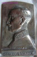 MED6707 - MEDAILLE COMMANDANT HELBRONNER 1917