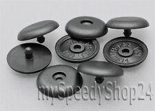 2x Gurtstopper Sicherheitsgurt Kunststoff Universal Stopper Schwarz Gurt Knopf