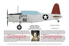 DISCOUNT! 2 WASP Pilot Prints, Aviation Art, Ernie Boyette