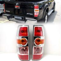 Fit 2008-11 Mazda BT-50 BT50 Pickup OEM 1 Pair Chrome Rear Tail Lamp Light