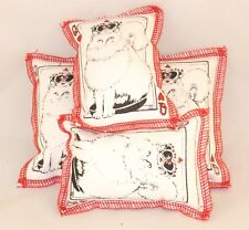 Cat Catnip Pillow Toy - Hand Made Davenport Queen Cat Rectangle - 4 ea