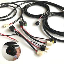 12V Kabelbaum 9005 H4 Steckerverbinder für Auto Zusatzscheinwerfer mit Schalter