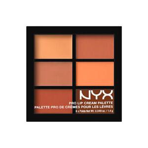 NYX PRO LIP CREAM PALETTE  THE NUDES  #PLCP02  Free shipping-MA1