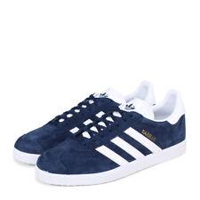 Scarpe uomo Adidas Gazelle BB5478 Blu-bianco Suede