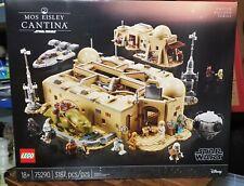 LEGO 75290, Star Wars, Mos Eisley Cantina, NIB, In Hand Ready To Ship, 3187 pcs!