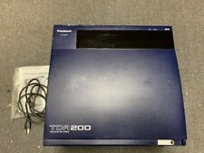 Panasonic KX-TDA200 Hybrid PBX Control Unit Phone System with Cards