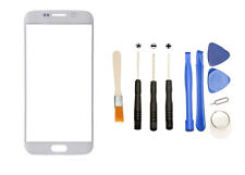 White Front Glass Lens Screen + Tools for Samsung Galaxy S6 Edge G925