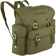 Oude Bw Duitse Leger Militaire Backpack Pack Wandelen Kamperen Rugzak 30L Olive