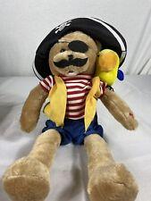 Singing Pirate Bear & Parrot CHANTILLY LANE DUET Musicals Cap'n Salty & Pepper