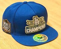 2020 World Series Champions LA DODGERS Hat Baseball Cap Los Angeles Blue NEW!