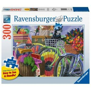 Ravensburger - Bicycle Group Jigsaw Puzzle 300pc Large Format