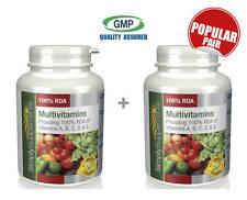 Simply Supplements Multivitamins 120+120 Tablets | Bundle Deal (E144144)