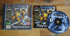 Jeu X-MEN MUTANT ACADEMY 2 Complet sur Playstation 1 PS1 (one)