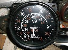 replica ww2 raf 480 mph spitfire airspeed indicator later type export type