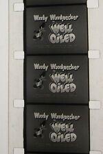 WELL OILED WOODY WOODPECKER CARTOON 16MM FILM MOVIE X125