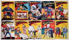 """(10) SUPERMAN COMICS 2"""" x 3"""" COVER MAGNETS - Superman #21-30"""