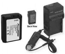 Battery + Charger for Sony Alpha SLT-A37 NEX5A/B NEX5A/S NEX5A/R NEX5K/B NEX5K/S
