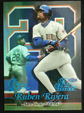 1999 Flair Showcase Legacy Row 2 #90 Ruben Rivera /99
