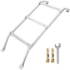 Basement Window Well Egress Escape Ladder 3-Step Wrought Steel 300lbs Capacity
