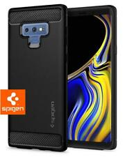 Samsung Galaxy Note 9 Case, Genuine Spigen [Rugged Armor] Cover Carbon - Black