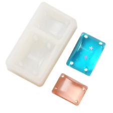 Rectangular silicone DIY mold bracelet pendant jewelry making model resin