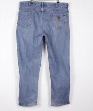 Vintage CARHARTT Men's Blue Jeans 42W 32L 42/32  R1030