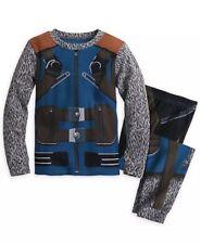 Disney Store Rocket Raccoon Size 6 Costume PJ Pajamas Guardians Of The Galaxy