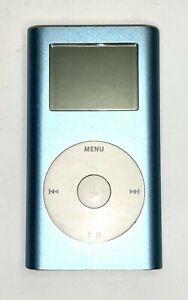 Apple iPod Mini A1051 - Blue - 4GB Tested 1st Generation 2004