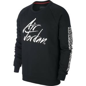 Nike $80 Men's  XL Greatest Sportswear Fleece Pullover Sweatshirt  Black AV6002