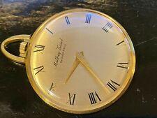 Mathey Tissot 18K Gold Pocket Watch -41mm