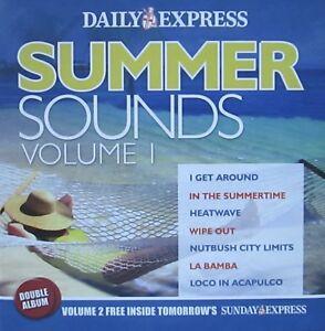 SUMMER SOUNDS VOL 1 CD AUDIO I GET AROUND IN THE SUMMERTIME HEATWAVE LA BAMBA