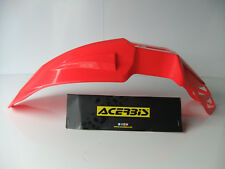 RED ACERBIS FRONT MUDGUARD SUPERMOTO ENDURO MOTOCROSS FENDER CRF CR XR CRM XL